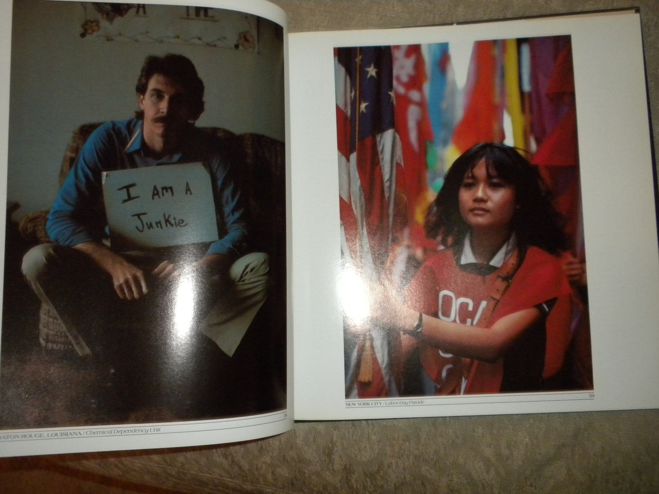 In America by Eve Arnold color, blk white photos 1983 HC w DJ 1st Ed NF w extra