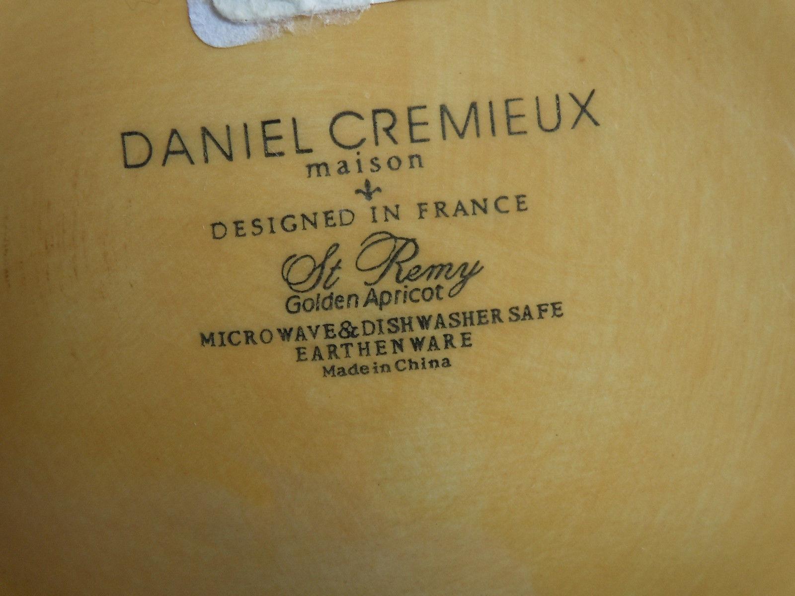 Daniel Cremieux St Remy Golden Apricot Salad Plate image 2