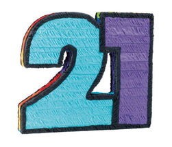 21st Birthday Pinata - $13.69