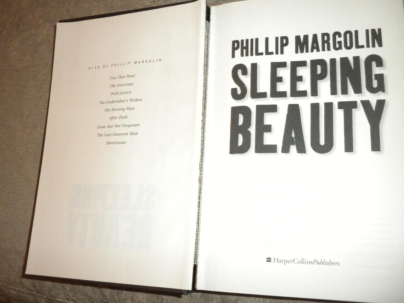 Sleeping Beauty by Phillip Margolin Hardcover w DJ  VG+/VG Harper Collins 2004