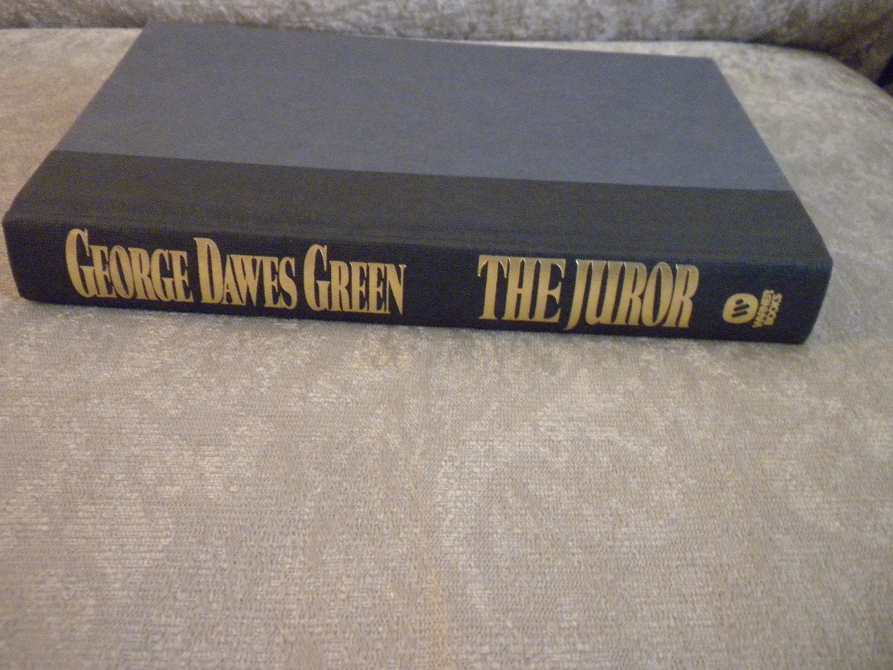 The Juror by George Dawes Green stated 1st w full number line HC w DJ  1995 NF