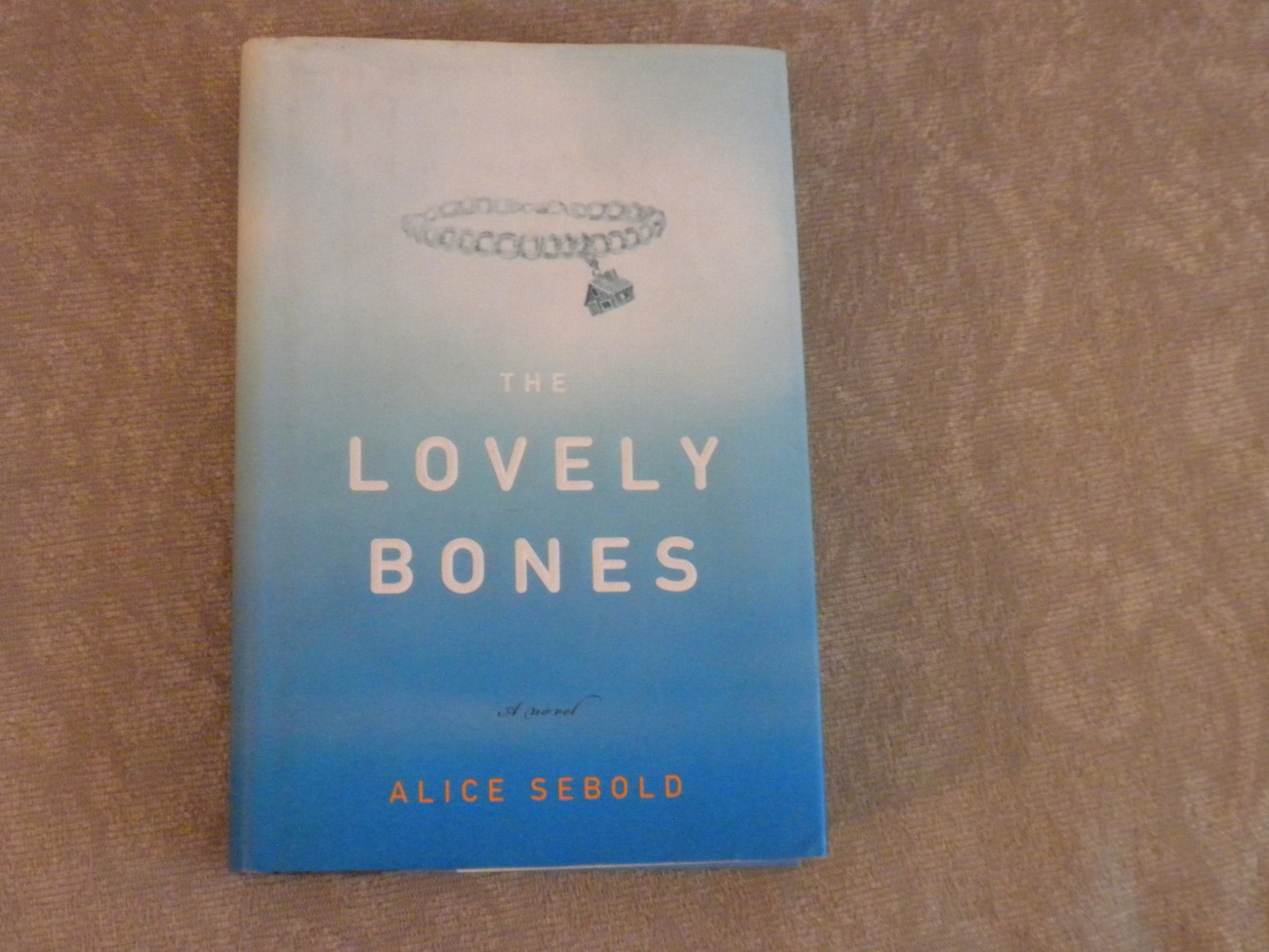 The Lovely Bones by Alice Sebold stated 1st Ed HC w DJ  later printing 2002 VG+