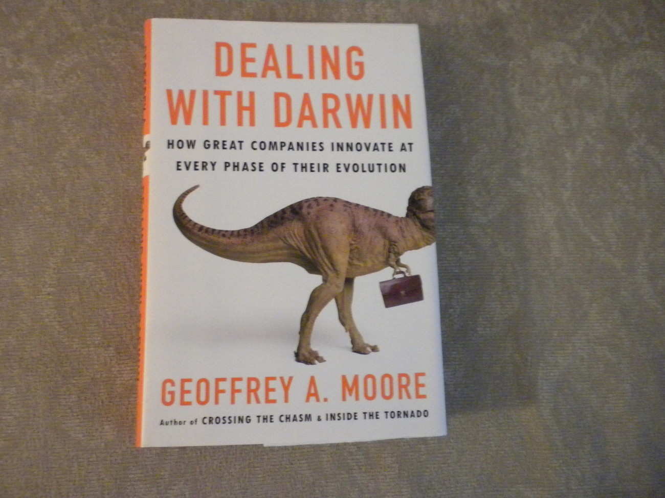 Dealing with Darwin by Geoffrey  Moore signed 1st Ed w full number line 2005 NF