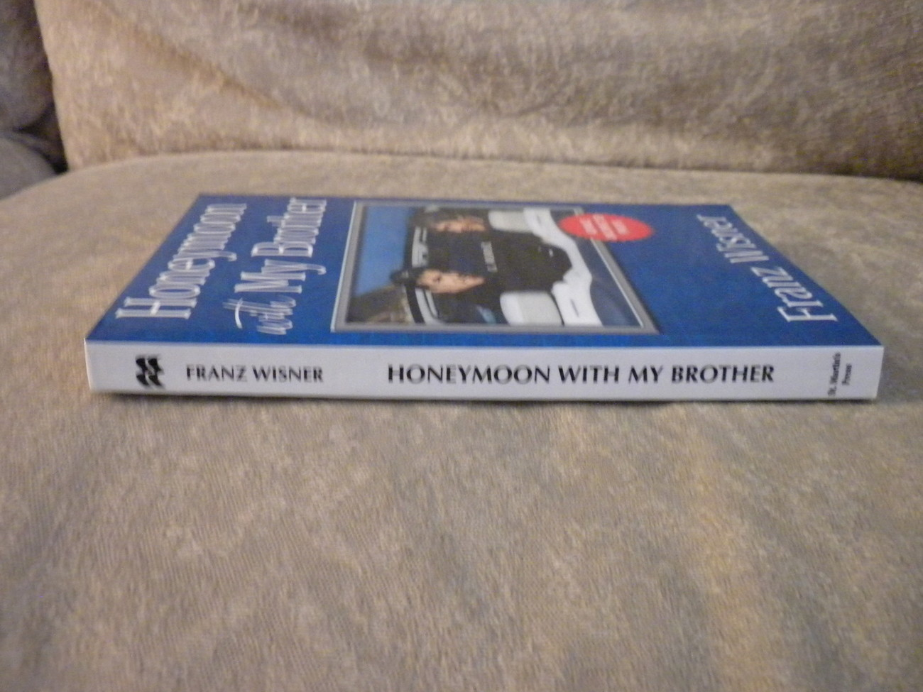 Advance Uncorrected Proofs Honeymoon With My Brother by Wisner 2005 1st full lin