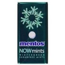 Mentos Now Mints Wintermint Sugarfree Mints, 1.09 Ounce - 144 per case. - $268.95