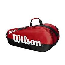 Wilson Team 2 Compartment Tennis Bag, Black/Red - $59.38
