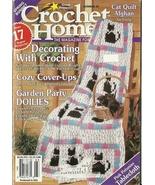 Crochet Home Magazine 45 February March 1995 - $9.98