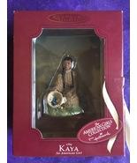 1764 Kaya American Girl Handcrafted Keepsake Ornament W/ Box Hallmark - $23.95