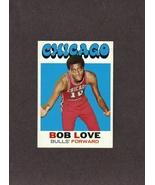 1971-72 Topps # 45 Bob Love Chicago Bulls - $1.99