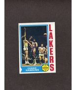 1974-75 Topps # 104 Connie Hawkins Los Angeles Lakers - $1.50