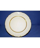 Embassy Vitrified China Gold Trim And Accents on Verge Rim Dinner Plate ... - $6.92