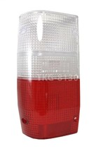 1 Lh Rear Tail Light Lens CLEAR/RED For Mitsubishi Mighty Max L200 Triton 86-94 - $13.89