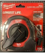 Milwaukee 48-22-5103 Long Closed Reel Tape Measure 30m - $15.84