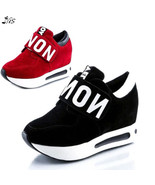 Nis Women Athletics Sport Sneakers Wedge Platform Running Casual Shoes C... - $29.00