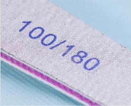 ACR UV Gel Nail File Foam Buffer 100/180 Manicure Home Professional image 2