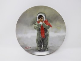 "Pemberton & Oakes ""Winter Angel"" Collectible Plate - Wonder of Childhood - $16.14"