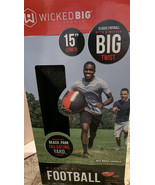 Wicked Big Sports Football-Supersized Football Outdoor Sport Tailgate Ba... - $13.57
