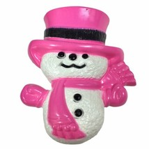 Vintage 1974 Collectible Avon Wee Willy Winter Snowman Pin Pal Fragrance... - $13.98