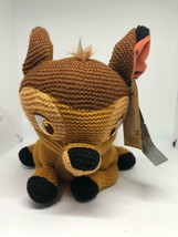 Disney Parks Bambi Classic Cozy Knit 11 inc Limited Release Plush New wi... - $37.88