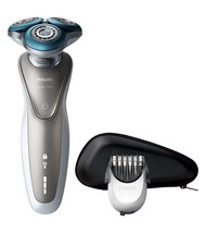 Philips S7510/41 Shaver Electric Use On Dry And Wet With Cover Eyeliner - $401.58