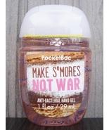 Make SMores Not War Pocketbac Antibacterial Sanitizing Hand Gel Bath Bod... - $3.00