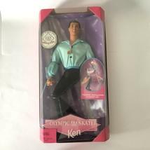 Vintage Mattel - Barbie Doll - 1997 Olympic USA Skater Ken  #18502  EC - $15.85