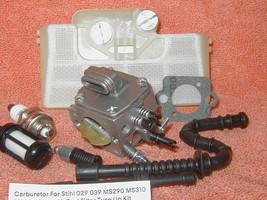 Carburetor For Stihl 029 039 MS290 MS310 MS390 Zama Air Fuel Filter Tune... - $14.45