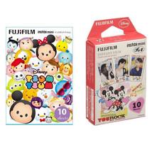 Tsum & Mickey and Friends FujiFilm Instax Mini Film Polaroid 20 Photos V... - $21.99