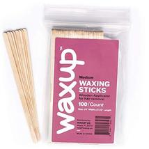 waxup Wax Applicator Wooden Sticks, Assorted Waxing Spatulas for Body, Face, Ear image 2