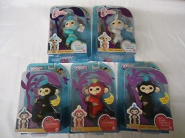 FINGERLINGS LOT OF 5 Finn Bella Glitter Amelia Glitter Sugar NIP - $60.78