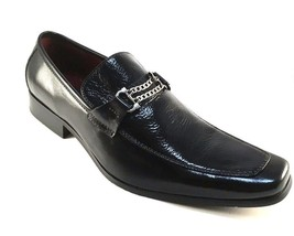 NXT N2742 Black Leather Men's Dressy Slip On - $47.20