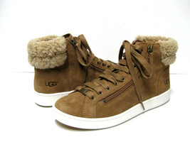 UGG OLIVE SUEDE WOMEN SNEAKER CHESTNUT US 10 /UK 8.5 /EU 41 - $108.89