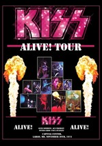 KISS Rock Band ALIVE! Largo MD Nov 30th 1975 Stand-Up Display - Concert ... - $16.99