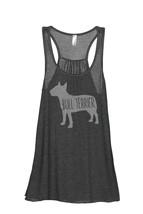 Thread Tank Bull Terrier Dog Silhouette Women's Sleeveless Flowy Racerback Tank  - $24.99+