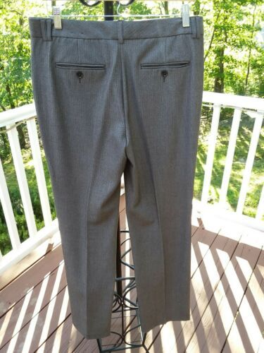 "EXPRESS DESIGN STUDIO ""EDITOR"" BROWN DRESS PANTS SIZE: 10 R Pre-owned!!"