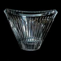 1 (One) MIKASA MERIDIAN Stunning Cut Lead Crystal Pocket Vase DISCONTINUED - $29.78