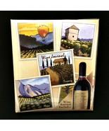 Wine Journal Tasting Album Covered Hardback Book Quality Connoisseur Dia... - $18.81