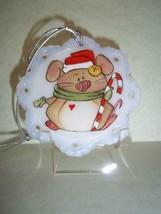 Fenton Glass Santa Mouse Christmas Ornament FAGCA Exclusive Ltd Ed of 19 Pieces - $125.62