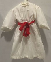 American Girl Doll Kirsten St Lucia Dress Holiday Gown Pleasant Co 1996  - $29.69
