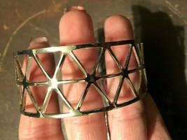 Paparazzi Cuff Bracelet (new) Knock Into Shape Silver - $7.61