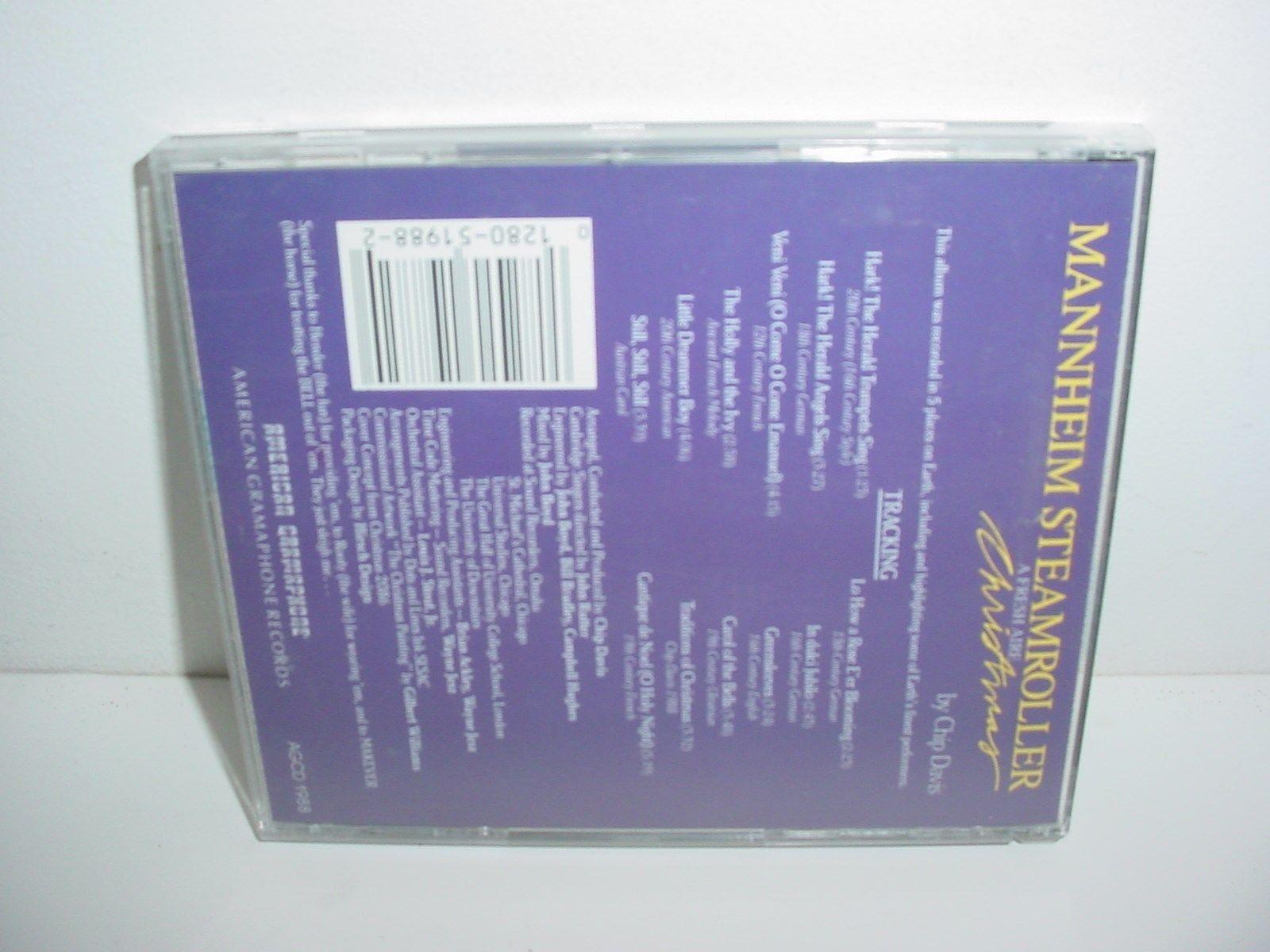 Mannheim Steamroller A Fresh Aire Christmas CD Music