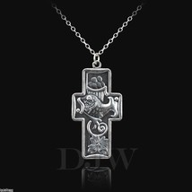 Sterling Silver Multiplication of the Loaves and Fish Pendant Necklace - $34.99+