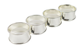 Fennco Styles Classic Design Metal Napkin Ring - Set of 4 - $19.99