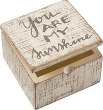 Primitives by Kathy Distressed Hand-Lettered Hinged Box, 4 x 4 x 2.75-In... - $14.36