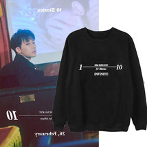 KPOP INFINITE Kim SungGyu Sweater 10 STORIES Ablum Pullover Casual Lette... - $9.50+