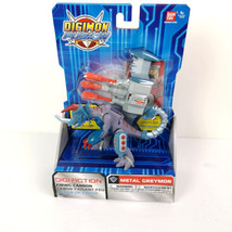 Bandai Digimon Fusion Metal Greymon Digi-Action Figure New Sealed - $54.99