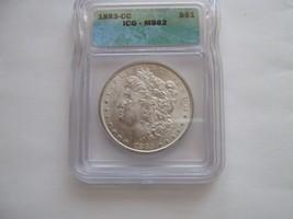 1883-CC , Morgan Dollar , MS 62 , ICG Certified - $300.00