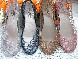Jelly camellia sandals flip-flops summer shoes flat flat cool beach slip