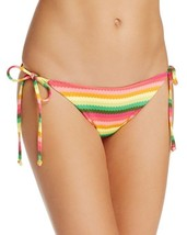 NEW L*Space Under the Sun Full Cut Tie Sides Bikini Swimwear Bottom L Large - $24.74