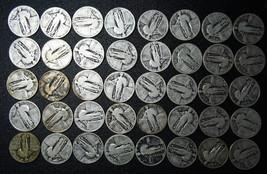 40 STANDING LIBERTY QUARTER COIN Lot # N 312